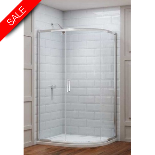 Merlyn - 8 Series 1 Door Offset Quad 1200 x 900mm Incl Tray RH