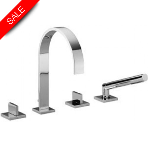 Dornbracht - Bathrooms - MEM Bath Shower Set For Deck Mounting 220mm Projection