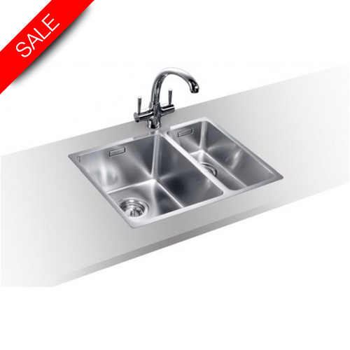 Blanco - Andano 340/180-IF Inset Sink & Tap Pack LH Bowl