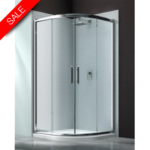Merlyn - 6 Series 2 Door Quad 900mm Incl MStone Tray