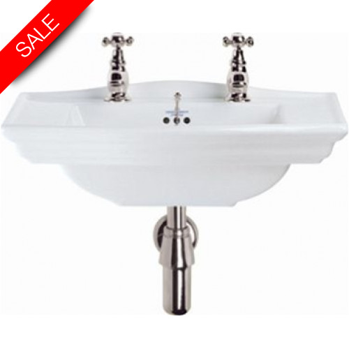 Imperial Bathroom Co - Westminster Cloak Basin 535mm 2TH