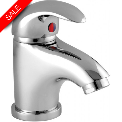 Just Taps - Novo Monoblock Basin Mixer With Pop Up Waste