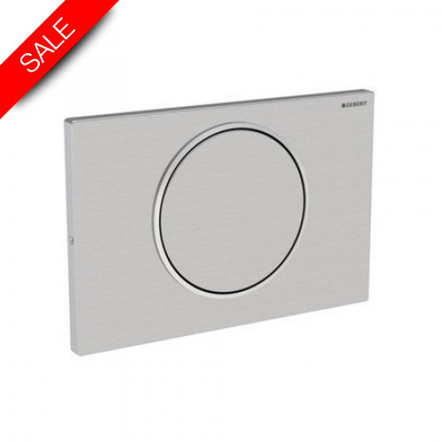 Geberit - Sigma10 Flush Plate For Stop-And-Go Flush, Screwable