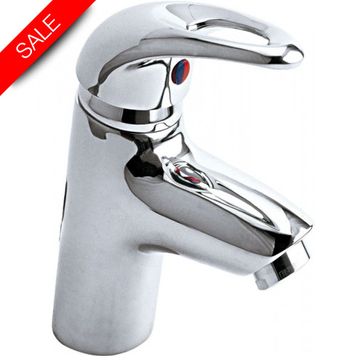 Just Taps - Gio Mini Single Lever Basin Mixer Without Pop Up Waste