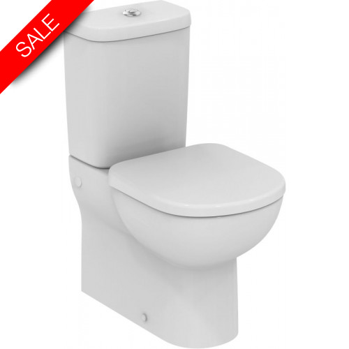 Ideal Standard - Tempo Close Coupled Back-To-Wall WC Pan