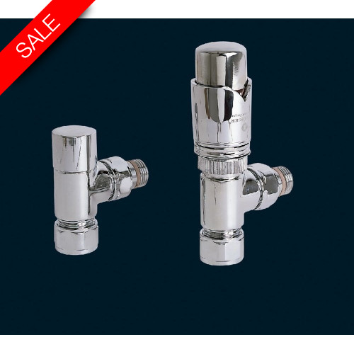 Bisque - Valve Set K (Angled Thermostatic)