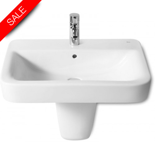 Roca - Senso Square Vanity Basin 650 x 480mm 1TH