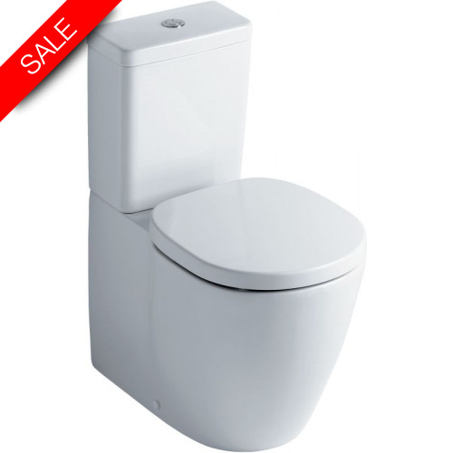 Ideal Standard - Concept Close Coupled Back To Wall WC Pan With Fixing Kit
