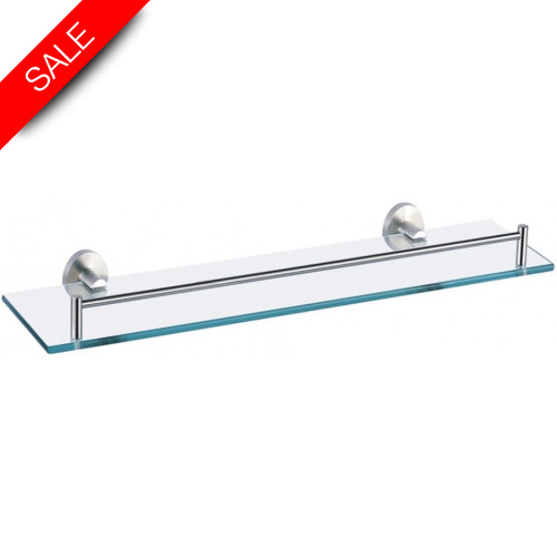 Just Taps - Inox Tempered Glass Shelf