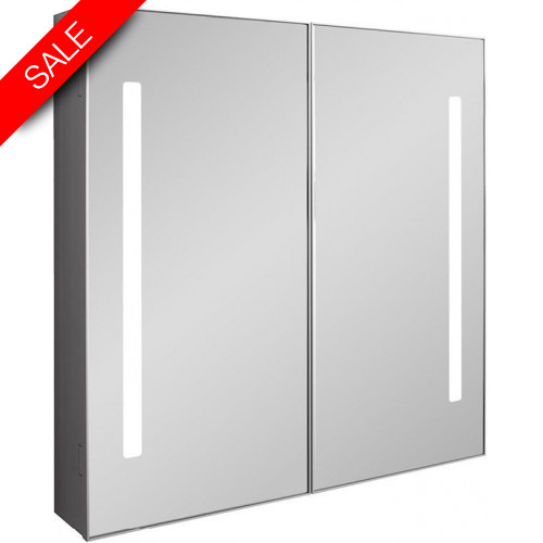 Bauhaus - Allure 700mm Mirrored Cabinet LED