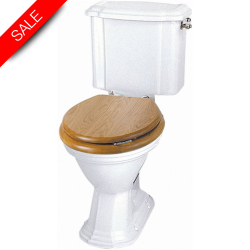 Imperial Bathroom Co - Oxford Close Coupled Cistern & Fittings & Lever