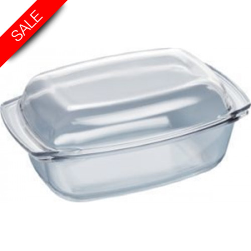 Boschs - Serie 8, 6, 4 5.4L Capacity Oval Glass Casserole Dish