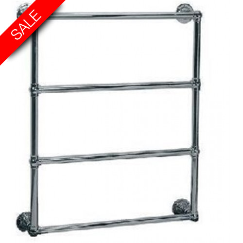 Lefroy Brooks - Classic Wall Mounted Towel Rail (838H x 686W) Dual Fuel
