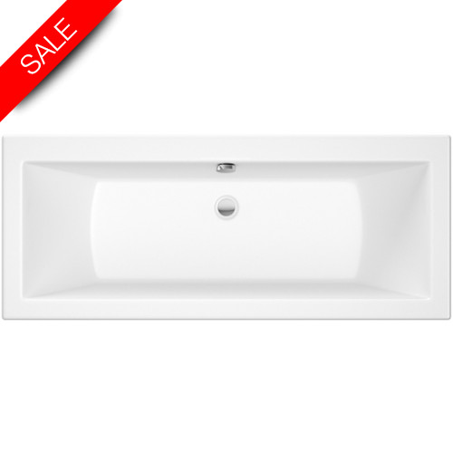 Roca - The Gap Double-Ended Bath 1700 x 700mm - 0TH