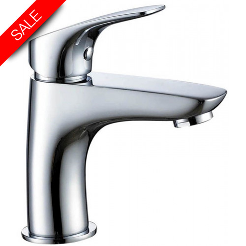Just Taps - Rize Single Lever Basin Mixer Without Pop Up Waste