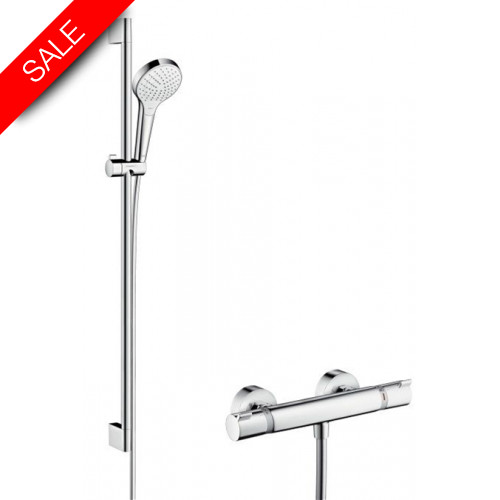 Hansgrohe - Bathrooms - Croma Select S Vario Combi Set 900mm