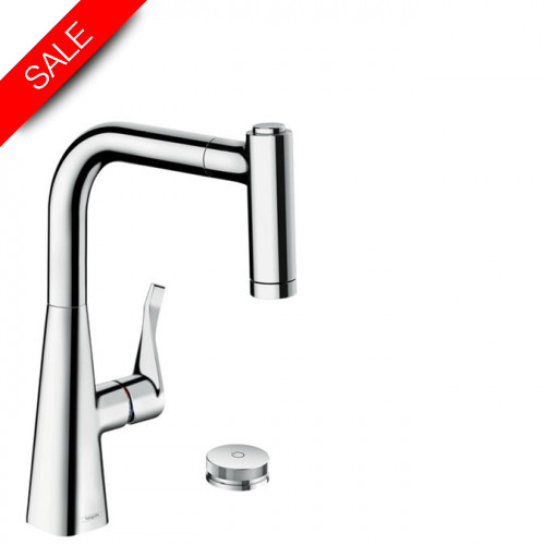 Hansgrohe - Bathrooms - M7120-H220 2-Hole Single Lever Kitchen Mixer 220