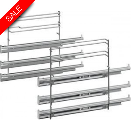 Boschs - Serie 8 Triple Level Telescopic Shelf Rails Set