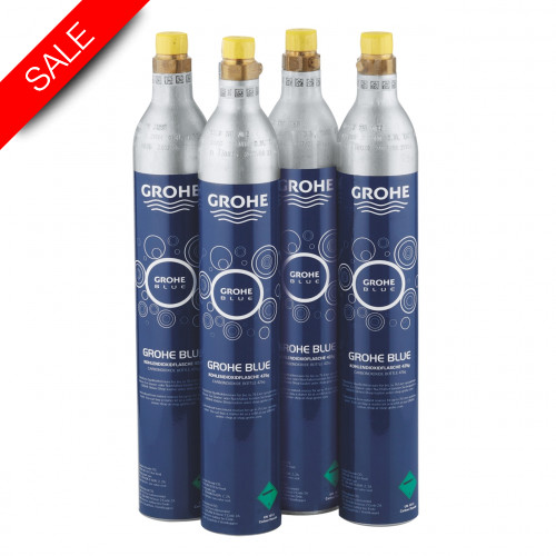 Grohe - Bathrooms - Blue Starter Kit 425G CO2 (4 Pieces)