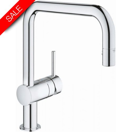 Grohe - Bathrooms - Minta Small Single Lever Basin Mixer