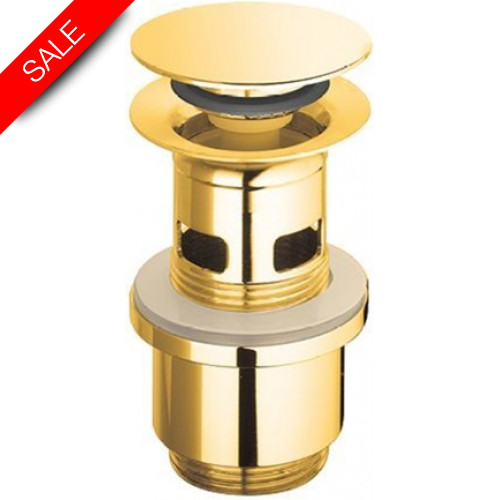 Catalano - Flat Brass Drain With Snap Motion
