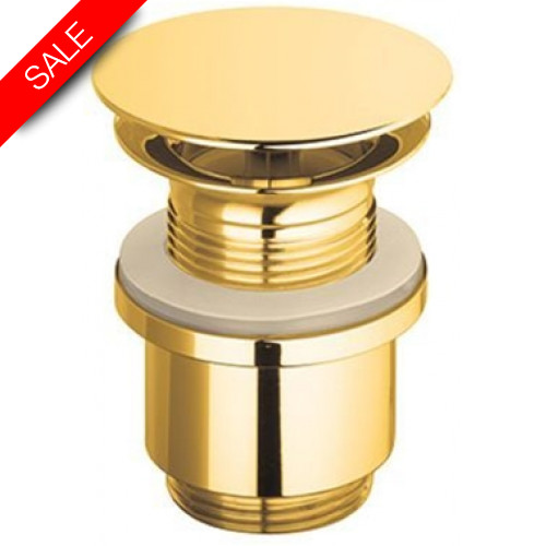Catalano - Flat Brass Drain For Washbasins Without Overflow