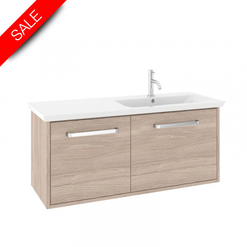 Bauhaus - Arena F 1000mm Basin With Overflow 1TH