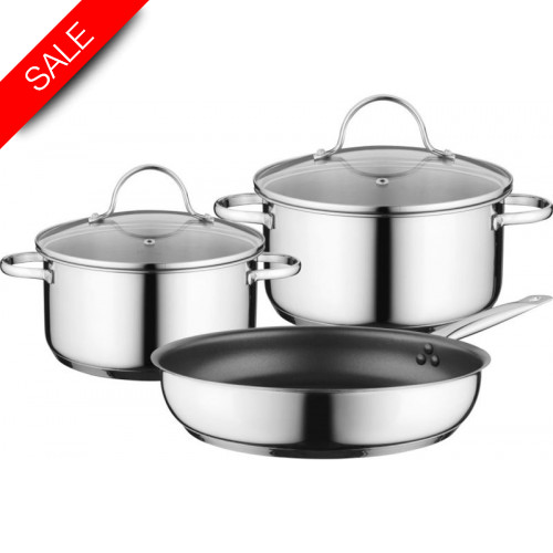 Siemens - Berghoff Three Piece Induction Pan Set